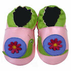 Free shipping Prewalker Infant Soft Sole Leather Baby Shoes Snail Pink 0-5 years