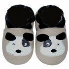 Freeshipping Newborn Prewalker Leather Soft Sole Baby Shoes Puppy Beige 0-5years