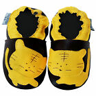 Free shipping Crib Prewalker Soft Sole Leather Baby Shoes Kitten Brown 0-5 years