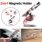 Universal Cell Phone Finger Grip Magnetic Car Holder Stand Mount Ring GPS Cradle