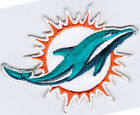 NFL Miami Dolphins National Football League Badge Iron On Embroidered Patch $5.99 USD on eBay