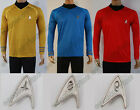 Star Trek Into Darkness Starfleet Captain Kirk Spock Costume Suit Shirt Uniform on eBay