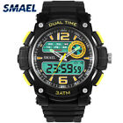 New Watches Mens Dual Display LED Climbing Watch Date Digital Electronic Smart