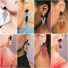 Fashion 1 Pair Women Lady Hook Stud Ear Drop Dangle Acrylic Earrings Jewelry