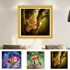 Modern Cat Bird Fairy Carriage Beauty Resin Diamond Embroidery Painting Dreamed