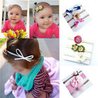 3PC Beauty Baby Girls Infant Toddler Flower Bow Headband Hair Band Accessories.