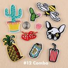 New Embroidered Iron On/ Sew On PATCH Lot Craft DIY Badge Bag Fabric Applique #1