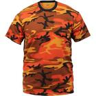 Savage Orange Camouflage - Military T-Shirt