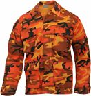Orange Camouflage - Military BDU Shirt