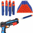 Bullet Blue Darts For NERF N-Strike Round Head Blasters Kids Toy Gun 100-1000pcs