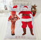 Top Quality Mr and Mrs Santa Christmas Santa Suit Duvet Set Double King Size