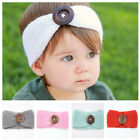 1pc Winter Warm Headband Large Buckle Twist Knitted Wool Headwrap For Baby Kids