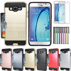 For Samsung Galaxy On5 G550 Card Pocket Shockproof Hybrid Tuff Phone Case Cover