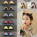 1Pair Girl Head Hair Accessories Cute Cat Ear Baby Hair Clips Barrettes Hairpin