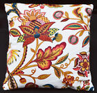 LF810a White Red Yellow Green Brown  Cotton Canvas Cushion Cover/Pillow Cover