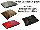 Warm Comfy Puppy Pet Dog Cat Pillow Bed Mat Basket Washable Removable Zip Cover