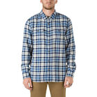 Vans Sycamore Mens Shirt Long Sleeve - Marshmallow Delft All Sizes