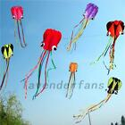Fun Octopus Kite 30M String Kids Outdoor Beach Park Lawn Games Holiday Baby Gift