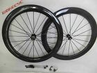 60mm width 25mm Clincher carbon bicycle road bike wheels carbon cycling wheelset
