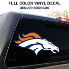 Denver Broncos Decal Sticker Graphic, Car Truck - 2 Sizes $7.95 USD on eBay