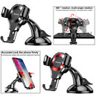 Universal Car Console Aluminum Suction Cup Mount Holder Stand for iPhone Samsung