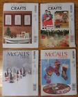 McCall's CHRISTMAS Decorations Sewing Patterns  NEW! UNCUT! You Pick! $3 Each