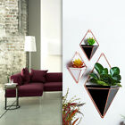 Innovative Hanging Planter Vase Geometric Wall Decor Container Succulent Plants