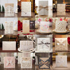 Wedding Party Invitation Card Envelopes Seals Personalized Laser Cut Printing