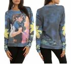 New Disney Tangled Duo Dancing Girls Pullover Sweater Sweatshirt Top Jumper XS