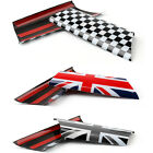 2X Interior Door Pull Covers Decoration Trim Set For MINI Cooper R55 R56 R57 R58