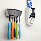 New Bathroom Accessories Set For Shower Dust-proof Toothpaste Dispenser Bath