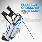 TAYLORMADE FLEXTECH CROSSOVER 2 Color Stand Golf Caddy Bag Tour Carry Cart E_n