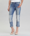 NYDJ Not Your Daughter's Jeans Karmin Patched Skinny Jeans Stockton Blue 4 & 10