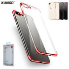 For iPhone 8 7 Plus Luxury Crystal Clear Hybrid Shockproof Hard Slim Case Cover