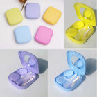 Travel Portable Cute Mini Storage Contact Lens Holder Case Mirror Box~