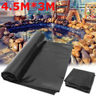 10-32ft Sizes Fish Pond Liner Gardens Pools HDPEMembrane Reinforced Landscaping