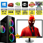Gaming Computer Pc Bundle Win 10 Core 2 Duo @ 3.0ghz 4gb Ram 500gb New  Wifi