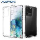 Shockproof Galaxy S9 S8+ Plus Note 8 Tough Hard Gel Clear Case Cover for Samsung