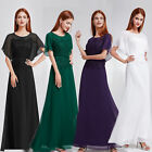 Ever Pretty Womens Lotus Leaf Sleeve Evening Party Formal Long Maxi Dress 08775