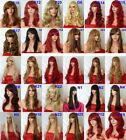 Hair Ombre Wig Natural Heat Resistant Synthetic Hair Costume Wig Auburn Ginger