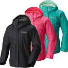 "New Girls Columbia ""Arcadia"" Omni-Tech Waterproof Reflective Rain Wind Jacket"