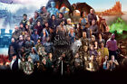 Art Silk Poster Game Of Thrones All Characters 36 27x40inch Wall Decor Home N748