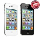 Apple iPhone 4S - Black White (Factory Unlocked) AT & T T-Mobile 8/16GB/32GB^