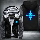 New One Piece Hoodie Monkey D Luffy Trafalgar Law Roronoa Zoro Winter Fleece Men