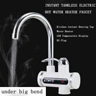 Electric Tank Less Water Heater Instant Hot Water Heater Cold Heating Faucet New