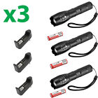 6 X Ultrafire Tactical 15000LM T6 Power LED Zoom Flashlight + 1865 фото