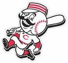 Cincinnati Reds Fan Vinyl Sticker Decal *MANY SIZES* Bumper Cornhole Truck Car on Ebay