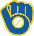 Milwaukee Brewers Fan Vinyl Sticker Decal *SIZES* Bumper Cornhole Truck Car on Ebay