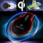 Clear Qi Wireless Charger Charging Mat Pad Fr iPhone X 8 Plus Samsung Note 8 S8+