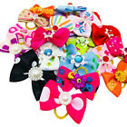 Assorted Small Dog Hair Bows Pet Cat Puppy Bowknots Grooming Hair Accessories